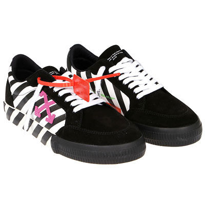 OFF WHITE DIAG LOW VULCANIZEDスニーカー OMIA085R20C210180129