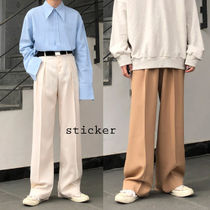 over long wide slacks
