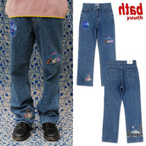 ★YOUTHBATH★新作★送料込み★デニム BEAR GRAPHIC DENIM PANTS