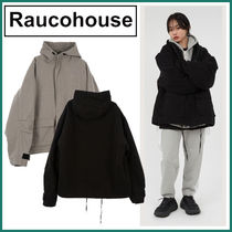 【Raucohouse】Overfit hooded quilted jacket★2色