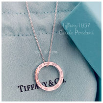 Tiffany & Co Tiffany1837 Circle Pendant in sterling silver