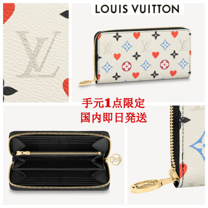 LOUIS VUITTON GAME ON ZIPPY WALLETジッピー長財布 送料+関税込
