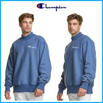 2021Cruise新作!! ★CHAMPION★Mockneck Crew, Embroidered Logo