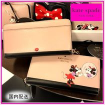 kate spade☆minnie x ksny☆large continental 長財布☆送込
