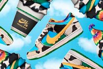 "BEN & JERRY'S ×NIKE SB DUNK LOW ""CHUNKY DUNKY"" ダンク"