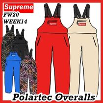 Supreme Polartec Overalls Overall FW 20 WEEK 14