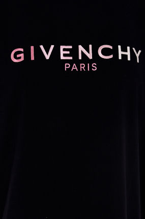 GIVENCHY Tシャツ・カットソー Givenchy】20awEMBROIDERED DEGRADE LOGO T-SHIRT(5)