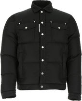 DSQUARED2☆BLACK POLYESTER DOWN JACKET