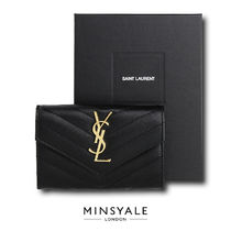 【SAINT LAURENT OUTLET 新品】モノグラム エンベロープ Wallet
