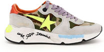 Golden Goose○RUNNING SOLE SNEAKERS CAMOUFLAGE SIGNATURE
