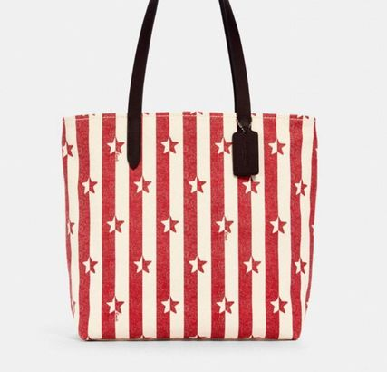 【COACH】セール!Tote With Stripe Star Print/トートバッグ