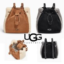 関税込☆UGG FEY 2 WAY MINI BACKPACK SUEDE