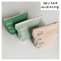 "韓国 ""second morning"" oldinary ポーチ 全3色"