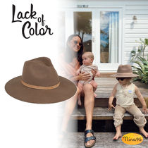 lack of color(ラックオブカラー) 帽子 【Lack of color】キッズ ベレー帽 Coffee Brown The Grove Kids