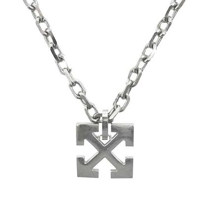 Off-White ネックレス・チョーカー Off-White オフホワイト ネックレス NECKLACES OMOB045E20MET001(2)