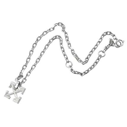 Off-White ネックレス・チョーカー Off-White オフホワイト ネックレス NECKLACES OMOB045E20MET001(3)