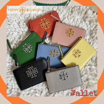 ToryBurch☆Newデザインが便利で嬉しいBRITTEN ZIP CARD CASE♪