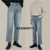 SCENERITY Agnal Crop Denim Pants