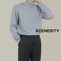 SCENERITY Standard Van High Neck Knit