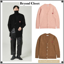 beyond closetのNOMANTIC OVER SIZE MOHAIR CABLE CARDIGAN