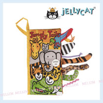 Jellycat★遊べる絵本♪Jungly Tails Cloth Book (22cm)★関送込