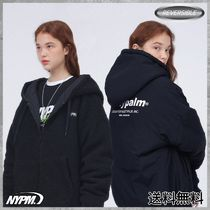 [NASTYPALM] NASTY FLEECE REVERSIBLE HOOD JACKET (BLACK)