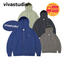 VIVASTUDIO BASIC LOGO HOODIE ZIP UP JA BBH1002 追跡付