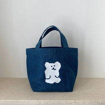 【Dinotaeng】BOBO Denim Bag エコバッグ SMALLサイズ