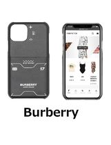 Burberry プリント iPhone 11 Proケース