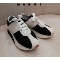 セール!!!マルニ直営店◆Bigfoot sneaker in fabric and suede◆