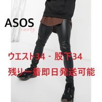 【ASOS】スキニーレザーパンツ 送料・関税込み