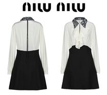 [関税・送料込] MIU MIU☆Shirt dress