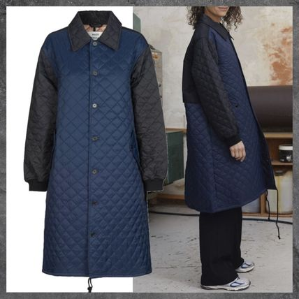 【MADS NORGAARD】Shiny Recy Quilt Clizetta キルト コート