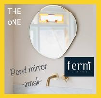 【ferm LIVING】ウォールミラー Pond mirror -small-