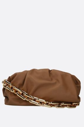 【BOTTEGA VENETA】THE CHAIN POUCH SMOOTH LEATHER CLUTCH