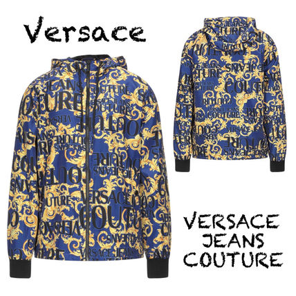 VERSACE JEANS COUTURE★日本未入荷★ロゴプリント ブルゾン