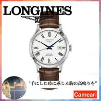 【安心米国購入】Longines Record 40MM Stainless Steel