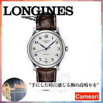 【安心米国購入】Longines Heritage Military Embossed Leather