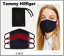 ★Tommy Jeans★3枚セット フラッグロゴマスク(関送込)