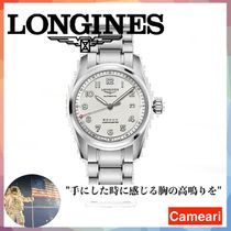 【安心米国購入】Longines Conquest Stainless Steel Automatic