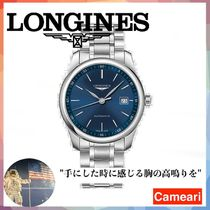 【安心米国購入】Longines Alligator Strap Watch