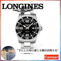 【安心米国購入】Longines Hydro Conquest Stainless Steel