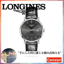 【安心米国購入】Longines Elegant Stainless Steel Automatic