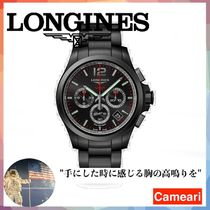 【安心米国購入】Longines Conquest 42MM Stainless Steel