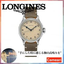 【安心米国購入】Longines Heritage Military Stainless Steel