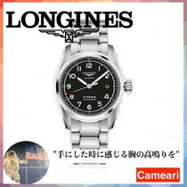 【安心米国購入】Longines Spirit Stainless Steel