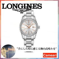 【安心米国購入】Longines Conquest Classic Diamond