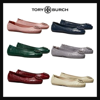 Tory Burch バレエシューズ [TORY BURCH] SALE!! バレシューズ CLAIR ELASTIC TRAVEL