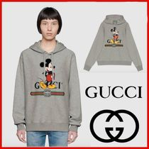 ◆GUCCI◆UNISEX Disney x Gucci hooded sweatshirt◆正規品◆