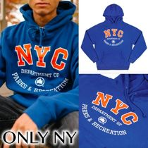 送料込ONLY NY NYC Parks Athletic Hoodie フーディ